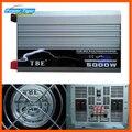 5000 W 5000 Watt Auto Carro de Onda Senoidal Pura Potência Do Inversor DC 12 V 24 V 48 V para AC 220 V Conversor Senoidal Pura Inversor de Energia Solar