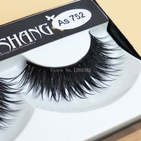 30Pair Lot Natural False Eyelashes Stage Makeup Smoked Cross Thick Fake Eyelashes Tool Makeup Lashes AS752