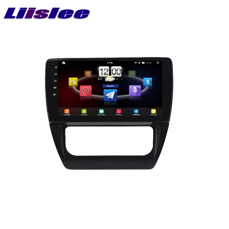 For Volkswagen <font><b>VW</b></font> A6 <font><b>Jetta</b></font> 2011~2017 LiisLee Car Multimedia TV DVD GPS Audio Hi-Fi Radio Stereo Original Style Navigation NAVI image