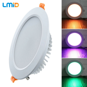 LMID RGB Led Downlight Light Ceiling Spot Light 3W 5W 6W 9W DC12V Ceiling Recessed Lights Indoor Lighting