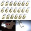 Krator 20 шт. T10 20 SMD светодиодсветодиодный белые супер яркие Автомобильные Боковые лампы с клиновидным цоколем 194168, 2825,W5W