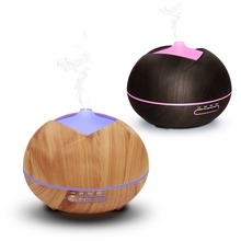 450ml Essential Oil Diffuser LED lights Ultrasonic Humidifier for Office Home