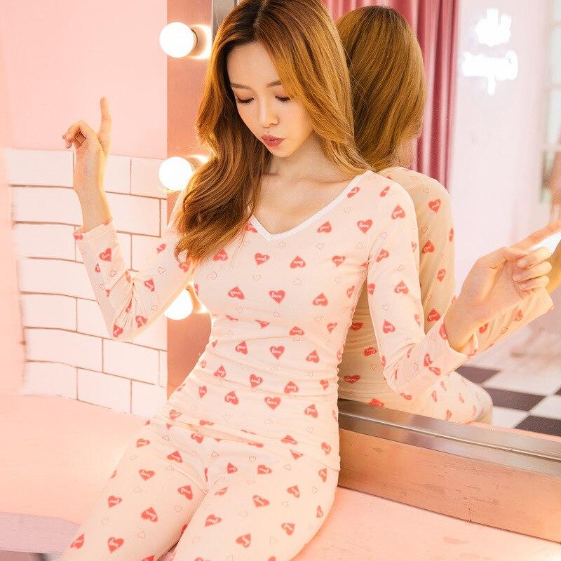 Cottom Women Autumn Long Sleeve Sleepwear Cute Cartoon Bunny Princess Pyjamas Lounge Nightwear Plus Size M-XXXL Homewear