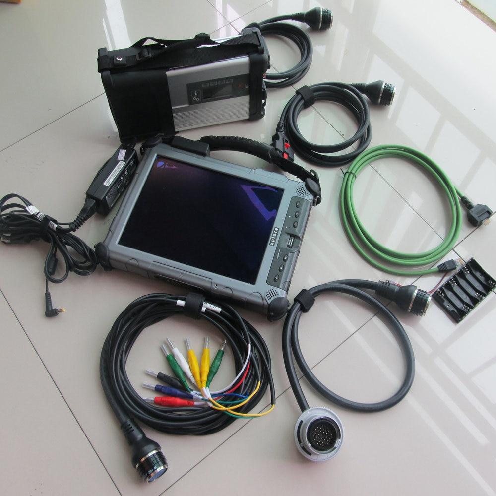 MB STAR C5 + MB SD CONNECT COMPACT DIAGNOSTIC TOOL SSD 2017.05V+ Tablet IX104C5 (4GB, I7CPU) Fast Speed DHL free Ship