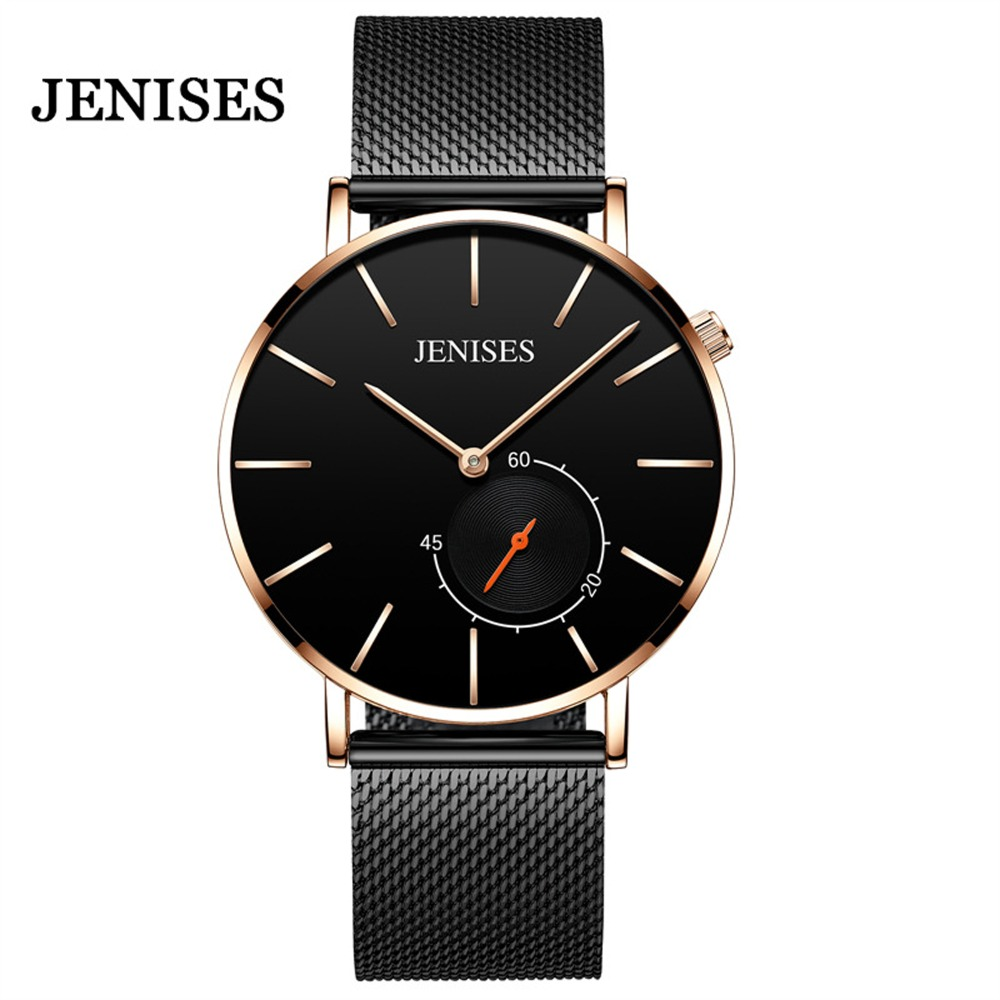 Relogio Masculino Watch Men Ultra Slim New font b Fashion b font Quartz Wrist Watch 2019