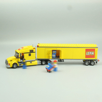 Lepin 02036 298pcs Geuine City Series Sale Truck Model Building Blocks Set Bricks Educational Toys For