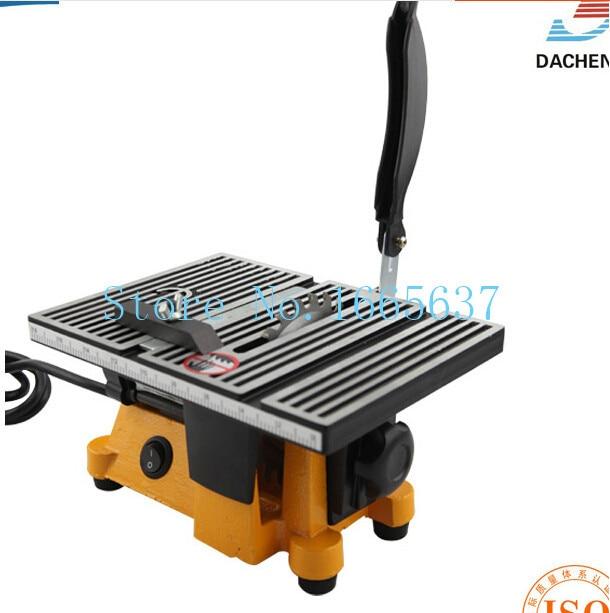 цена на oo 220-240v 90w Mini Table Saw/Mini Bench Saw 1pc alloy blade 1pc diamond blade cuts stone wood copper aluminium lead