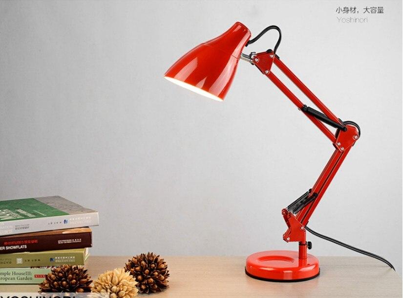 Led Reading Lamp Eye Learning Long Arm Folding Lamp Students