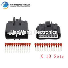 цена на 5 Sets 12 Pin sheathed automotive connector with Terminal  DJ7121F-2.2-11 / 21 12P connector