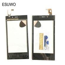 Esuwo rev. зера highscreen f сенсорная digitizer передняя стикер панель внешний