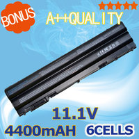 5200mAH Battery For Dell Latitude E5420 E5430 E5520 E5520m E5530 E6120 E6420 E6420 E6430 E6520 E6530