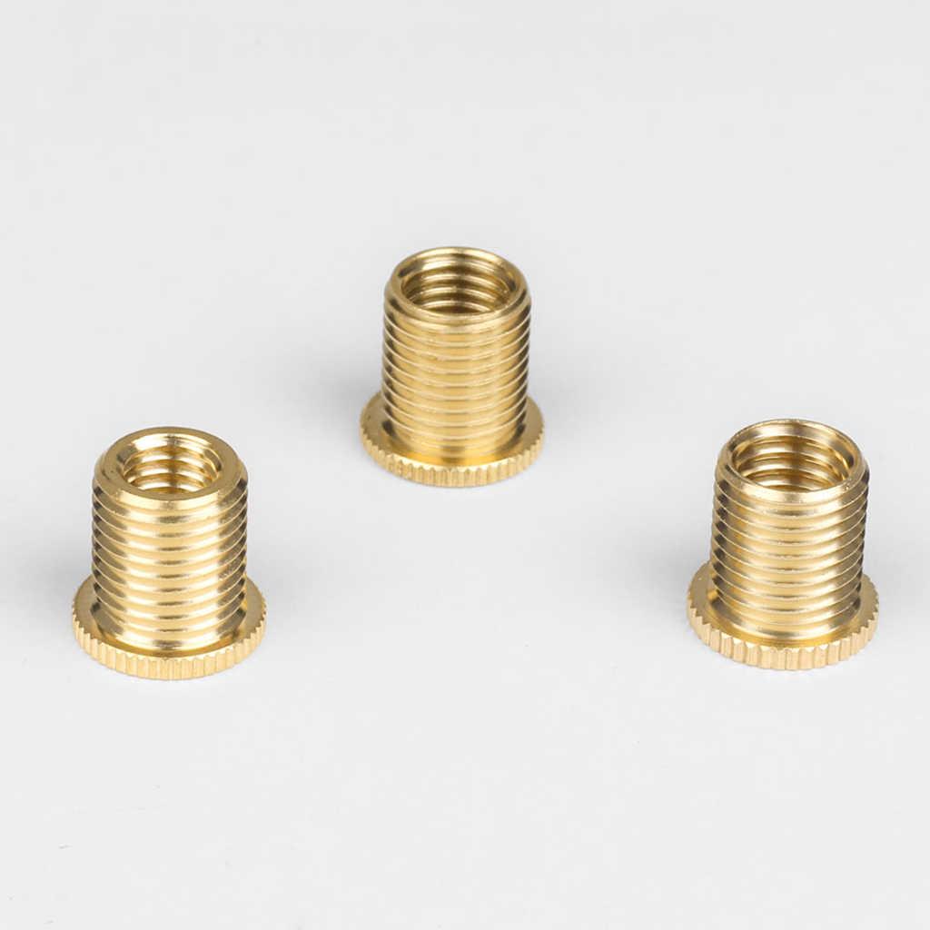 5 peças M10X1.25 Mudança Bola Engrenagem Braas Inserir Porca Latão Serrilhada Inserções de Rosca Nuts Kit de Moldagem Por Injeção