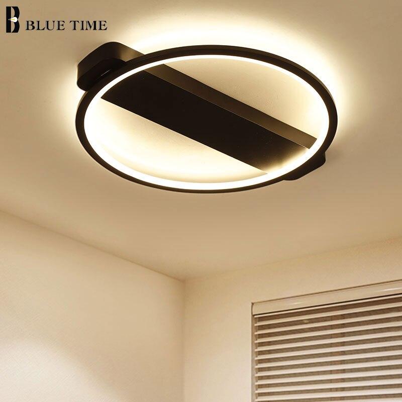 Acryl Moderne Kronleuchter Beleuchtung Innen Einfachen LED Kronleuchter Für  Schlafzimmer Küche Wohnzimmer Leuchten D62/52/42 Cm