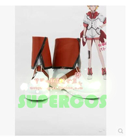 Free Shipping Cute High Earth Defense Club Love Hakone Yumoto Battle Lover Scarlet Cosplay Shoes Boots
