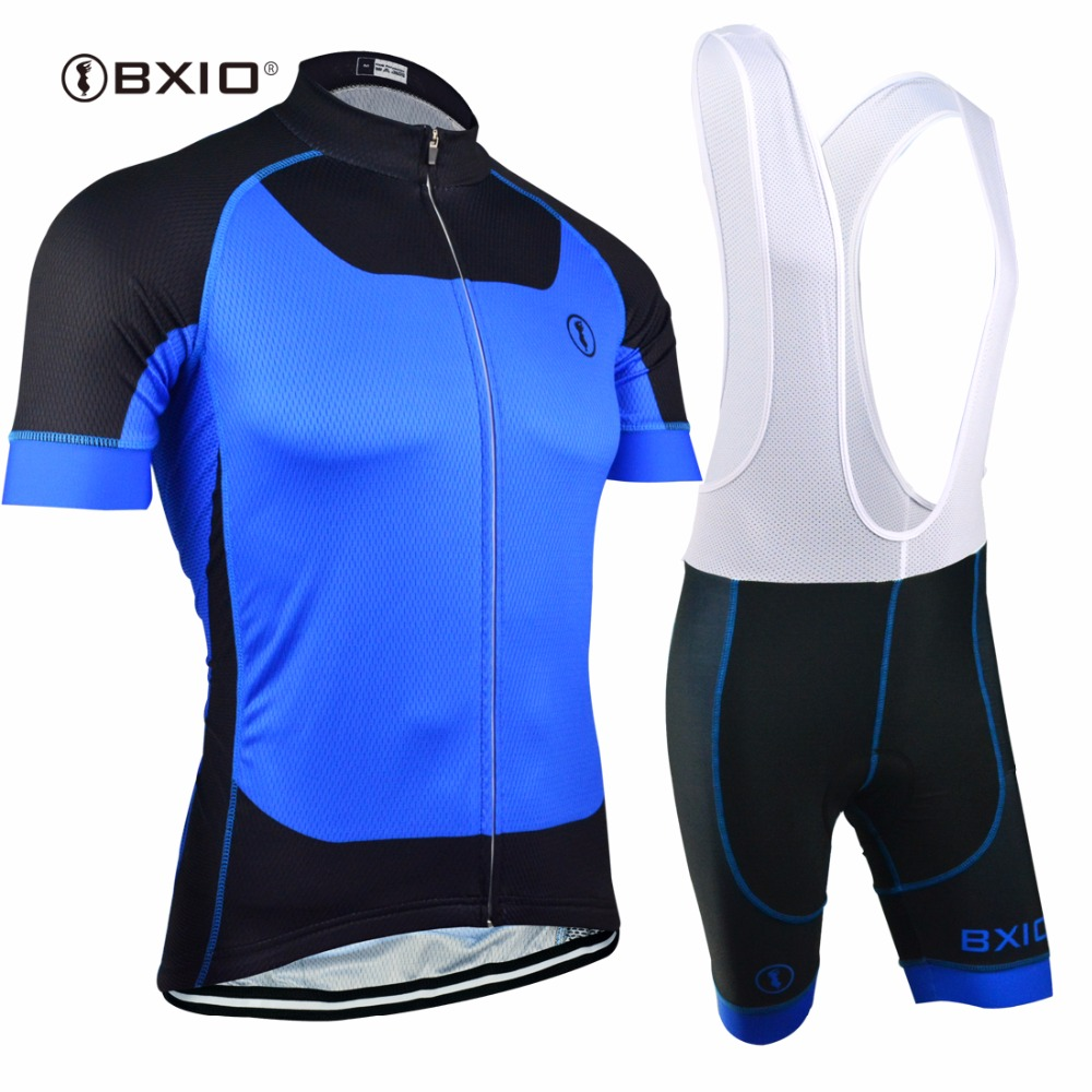 EU Brand BXIO Cycling Jersey Top Quality Seamless Stitching Short Sleeves Bicycle Clothing 5D Gel Pad Short Maillot Ciclismo 131 bxio winter thermal fleece bicycle jersey top rate seamless stitching long sleeves pro cycling clothing 5d pad ropa ciclismo 138