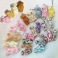 """20 шт. 4.5 см (1.8 """") плюшевые игрушки плюшевый медведь мультфильм куклы ткани ткани присоединиться медведи творческий DIY ювелирные изделия ручной работы аксессуары"""