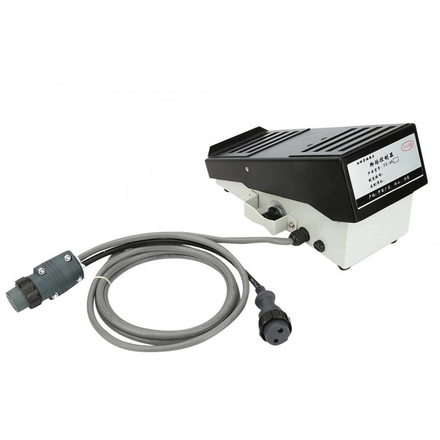 Commutateur tactile pédale de commande au pied à Induction magnétique MIG TIG pour soudeur Panasonic avec interrupteur à bascule à câble de 2 mètres
