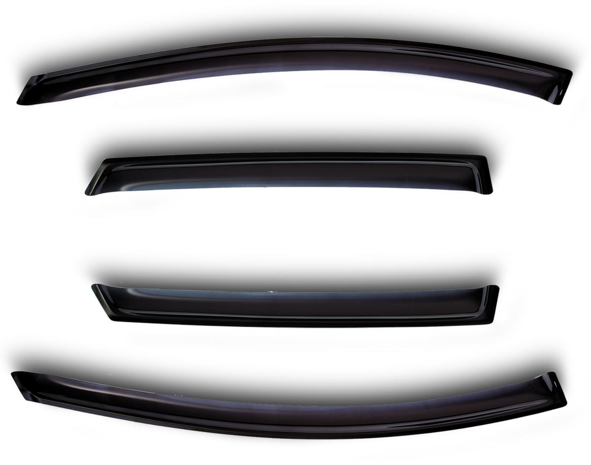 ABS for Mitsubishi accessory Rain window visor L200 Triton 2015-side deflectors