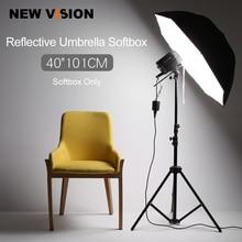 """40 """"101 cm Photo Studio Flash Stobe oświetlenie odblaskowe parasol Softbox"""
