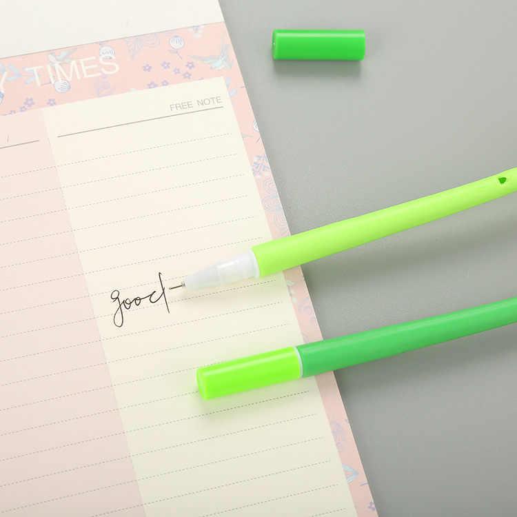 1 PCS Creative סימולציה קמליה ניטראלי עט חמוד קריקטורה למידה מכתבים עט משרד אספקת Waterborne חתימת עט
