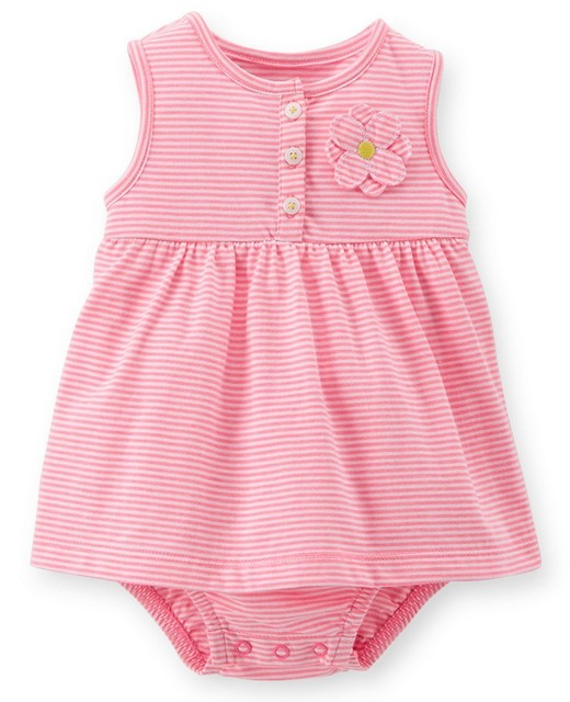5a163a6fc wholesale carter's baby girl summer striped sunsuit, carter's baby boy  clothes , 5pcs/lot, free shipping