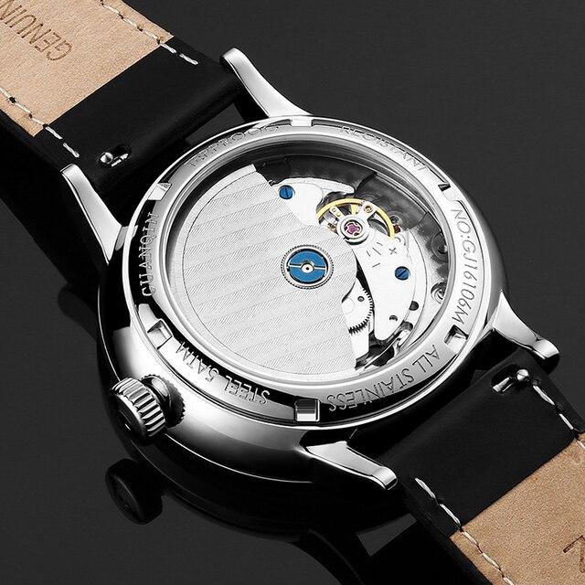 GUANQIN Mechanical Business Watch for Men  4