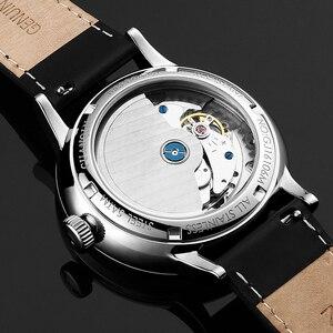 Image 5 - GUANQIN mekanik İzle erkekler İş moda otomatik saatler 316L paslanmaz çelik üst marka lüks aydınlık kol saati