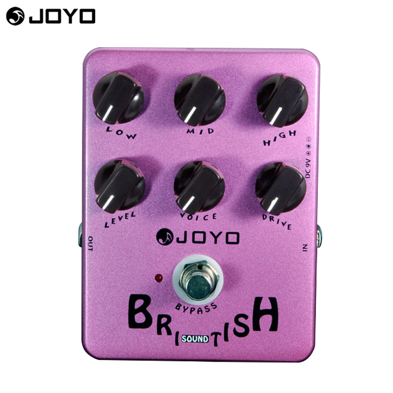 JOYO JF-16 Marshall-amp-simulating Guitar Effect Pedal with British Sound Effects & 6 Knobs freeshipping free power supply беспроводные наушники monster isport intensity in ear wireless blue