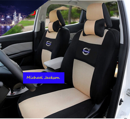 Universal car seat cover For Volvo S60L V40 V60 S60 XC60 XC90 XC60 C70 s80 s40 black/beige/gray ...