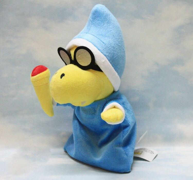 28 см новые magikoopa плюшевые Игрушечные лошадки Super Mario Bros. Плюшевые Куклы мягкая игрушка