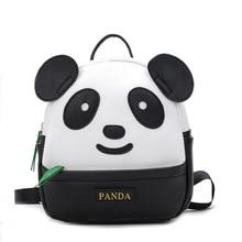 Mini sac à dos décole pour filles, sac à dos mignon en cuir PU, Panda, Style coréen