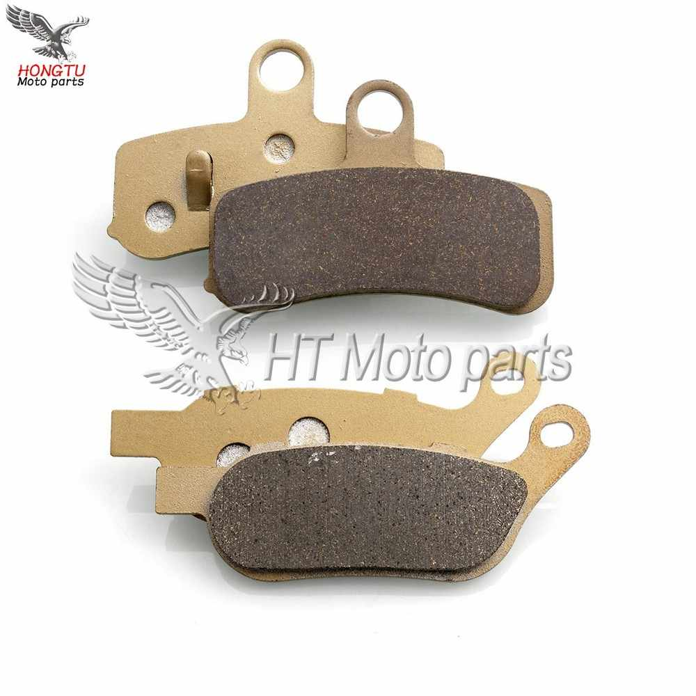 Motorcycle Front Rear Brake Pads For Harley 1584 FXSTI FLSTF Fat Boy Special FXDB Bob 2008-2016 FXS Blackline 2011-2013