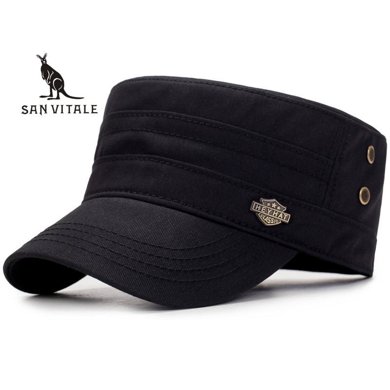 Baseball     Cap   Men Spring For Jeans Dad Flat Hat Black Blank Luxury Brand 2019 New Designer Luxury Brand Casual Accessories