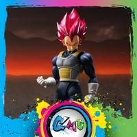 CMT In Stock Bandai Tamashii Nations Super Dragon Ball ZDB S.H.Figuarts SHF Super Sayan God Super Sayan Vegeta Action Figure