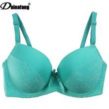 2017 new 38/85 40/90 42/95 44/100D DD E Cup sutia large size women underwear bra,floral print bow lingerie brassiere sexy bra