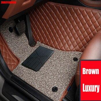ZHAOYANHUA Special car floor mats for Citroen C5 C4 Air Cross Picasso C2 C4L C-elysee DS5 DS6 6D car styling carpet floor liner
