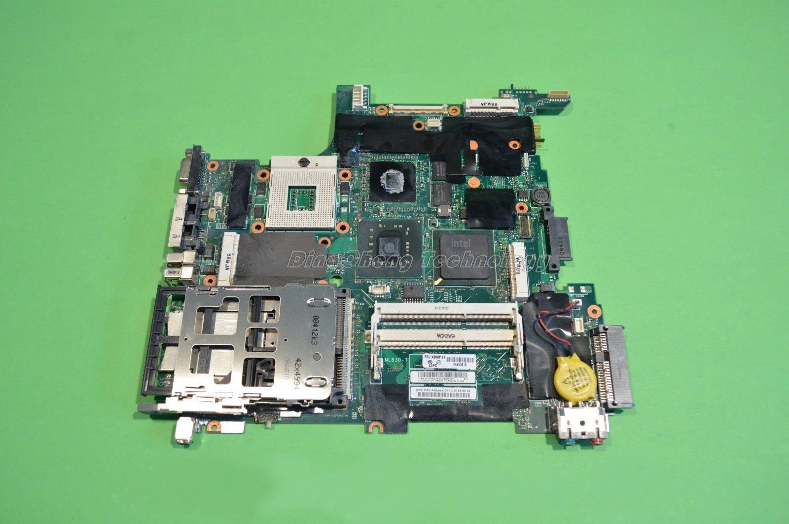 SHELI laptop Motherboard for Lenovo IBM T400 R400 14.1' 42W8127 non-integrated DDR2 100% tested Fully mukhzeer mohamad shahimin and kang nan khor integrated waveguide for biosensor application