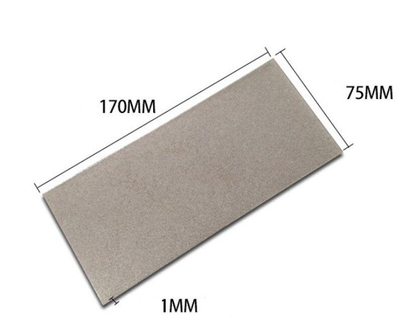 Square Thin Diamond Grinding Polishing  Knife Tool Sharpening Stone Whetstone 80-3000 Grit Plate Grinding Polishing Tool