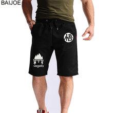 BAIJOE NEW Summer Dragonball Mens Jogger Sporting Thin Shorts Men Goku Short Pants Male Bodybuilding Shorts