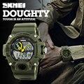 Skmei s choque mens relojes deportivos 50 m natación buceo reloj militar led digital de moda al aire libre relojes de pulsera digital resistente al agua-reloj
