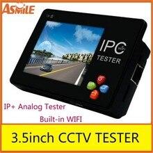 Новинка 3,5 дюймов CCTV Onvif ЕС ip-камера тестер сенсорный экран видео монитор PTZ/wifi/FTP сервер/IP сканирование/порт мигающий/DHCP IPC-1600