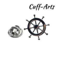 Cuffarts Lapel Pin For Men Ships Wheel Pride Women Accessories  Brooch Hijab Pins Enamel Broche Pusheen P10063