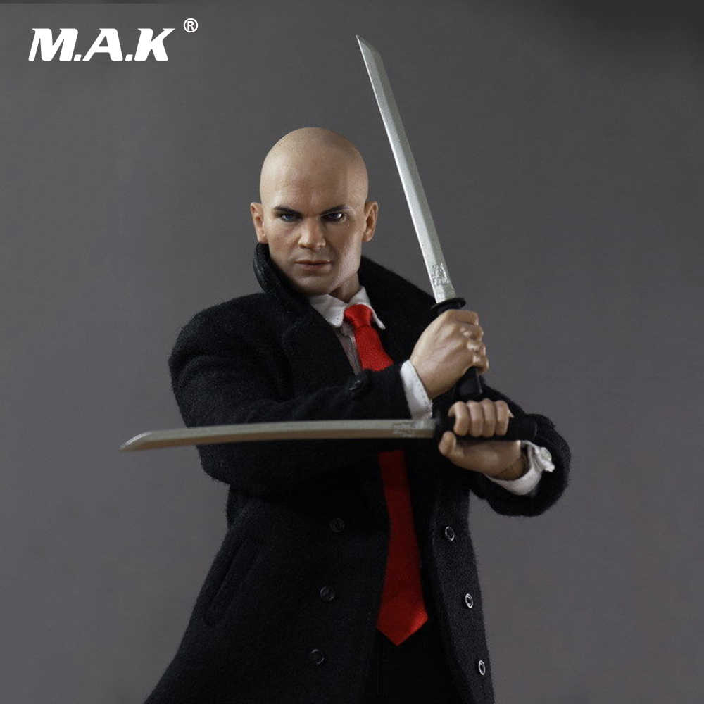 1 6 Scale Hitman 47 12 Male Full Set Action Figure Suit Headsculpt Body Clothes Other Accessory Model Toys For Collection