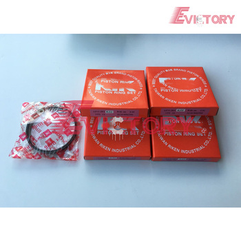 Untuk Mesin Yanmar 4TN82 4TNE82 4D82 Piston Ring Set
