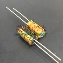 20pcs/50pcs Nichicon 50v22uf FG 6.3X11 aluminum audio super capacitor electrolytic capacitors free shipping цена