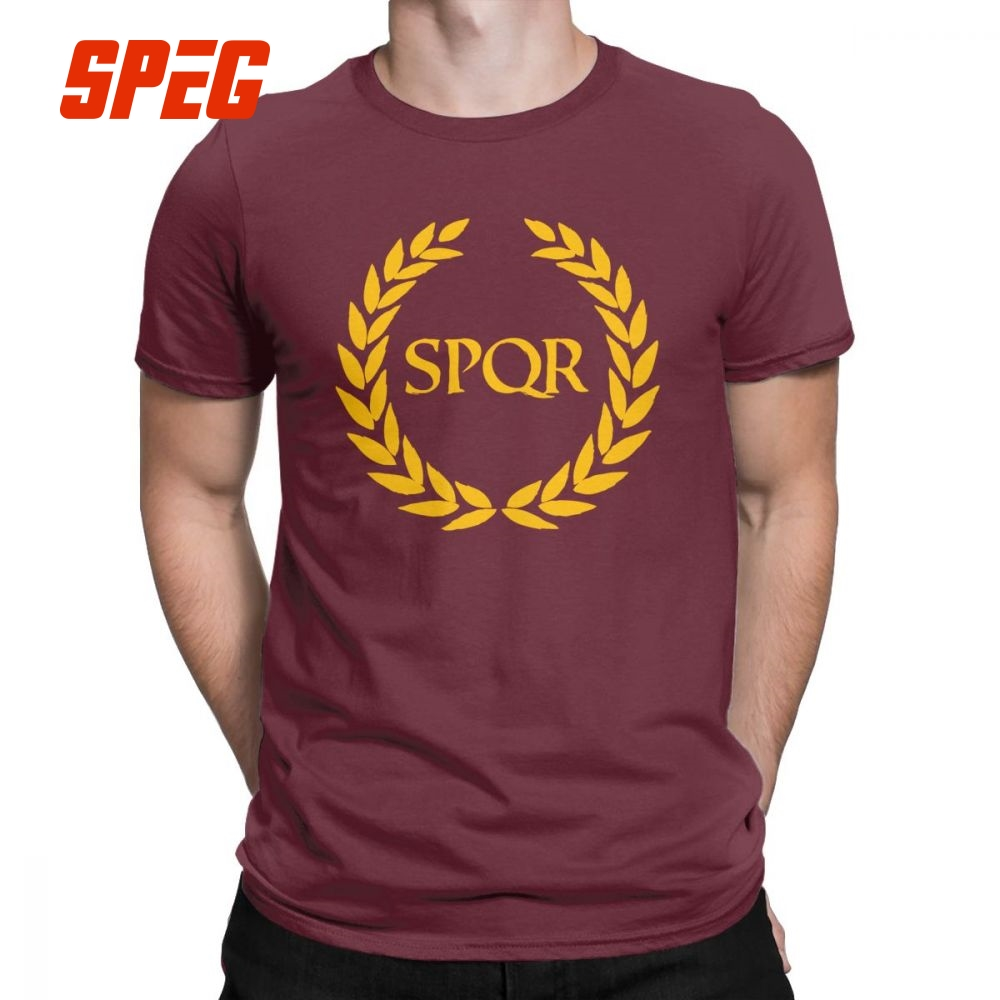Camp Jupiter SPQR T-Shirt Annabeth Chase Annabeth Percy Jackson New Rome Men T Shirt Hipster Purified Cotton Short Sleeve Tees