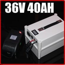 36 В 40ah lifepo4 Батарея Портативный Батарея, электрический велосипед самокат обновления солнечной энергии, водонепроницаемый 36 В литий Бесплатная доставка