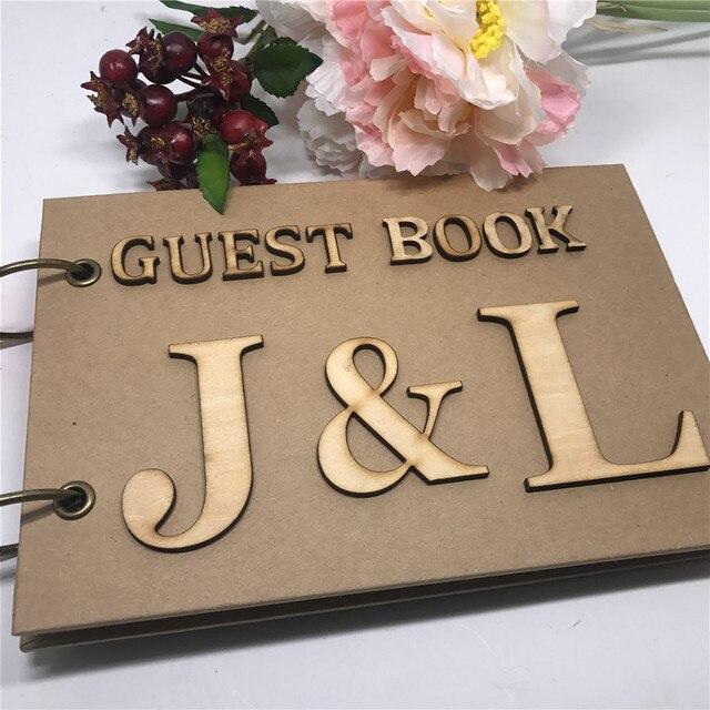 Personalisierte Hochzeit Gastebuch Benutzerdefinierte Hochzeit