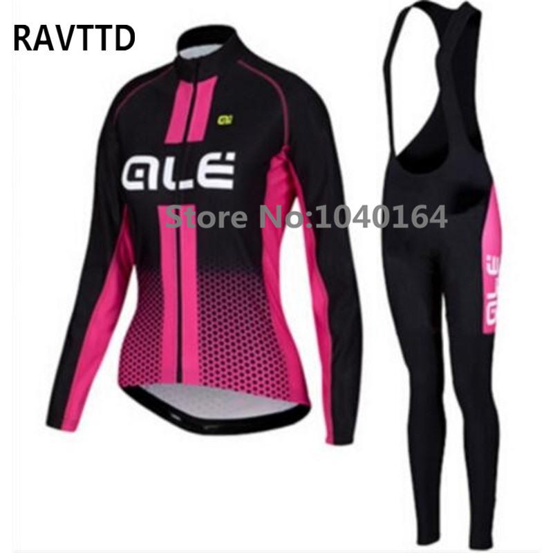 ФОТО Autumn Cycling Clothing Wear 2017 Women's Cycling Jersey Maillot Ciclismo Bike MTB Jerseys Cycling Clothes Black red