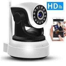 Wifi IP камера безопасности 720P HD видео домашнее охранное видеонаблюдение 360 ночное видение двухсторонняя аудио камера обнаружения движения для помещений